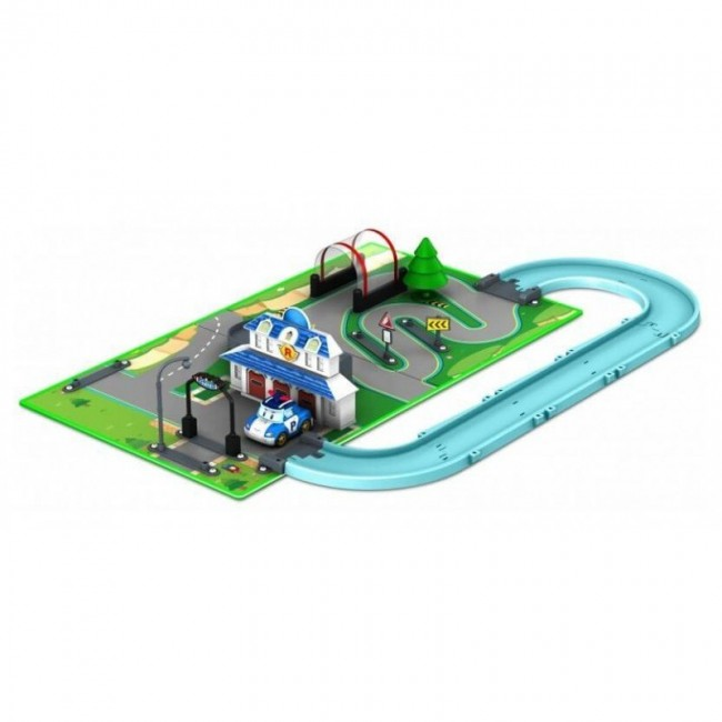ROBOCAR POLI BROOMS TOWN MAP ΑΡΧΗΓΕΙΟ