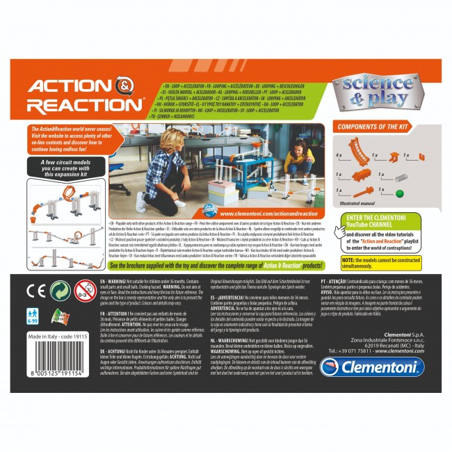 ACTION REACTION LOOP + ACCELERATOR