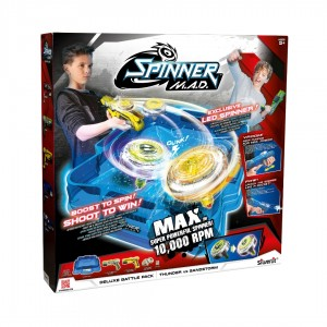 SPINNER M.A.D. ΠΙΣΤΑ DELUXE ΣΕΤ
