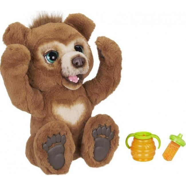 FURREAL CUBBY THE CURIOUS BEAR ΠΕΡΙΕΡΓΟ ΑΡΚΟΥΔΑΚΙ