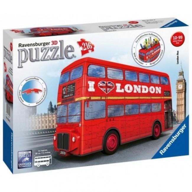 3D PUZZLE 216TMX LONDON BUS