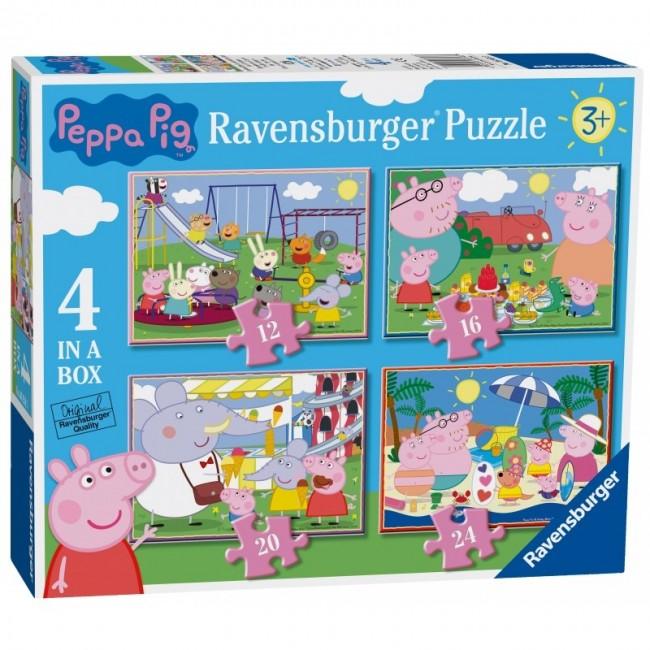 RAVENSBURGER ΠΑΖΛ 4 ΣΕ 1 PEPPA PIG
