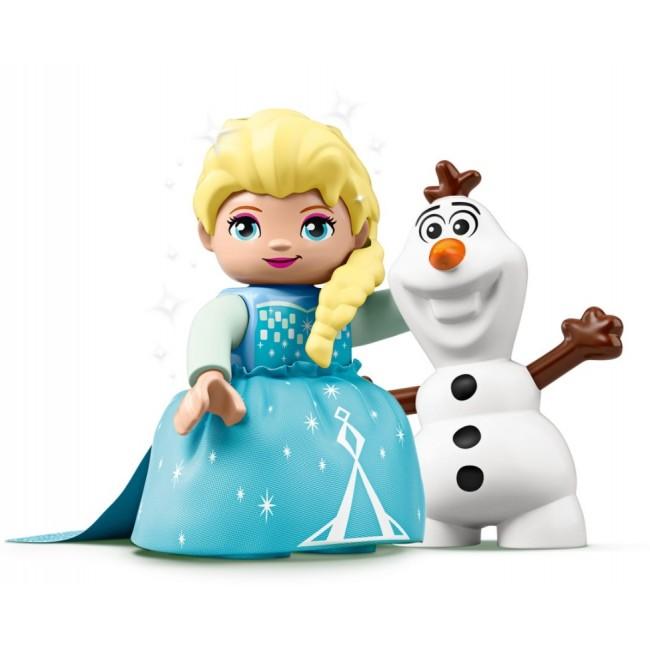 LEGO ELSA OLAF TEA PARTY