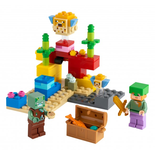 LEGO MINECRAFT Ο ΚΟΡΑΛΛΙΟΓΕΝΗΣ ΥΦΑΛΟΣ