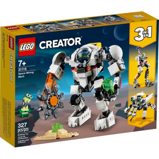 LEGO SPACE MINIG MECH