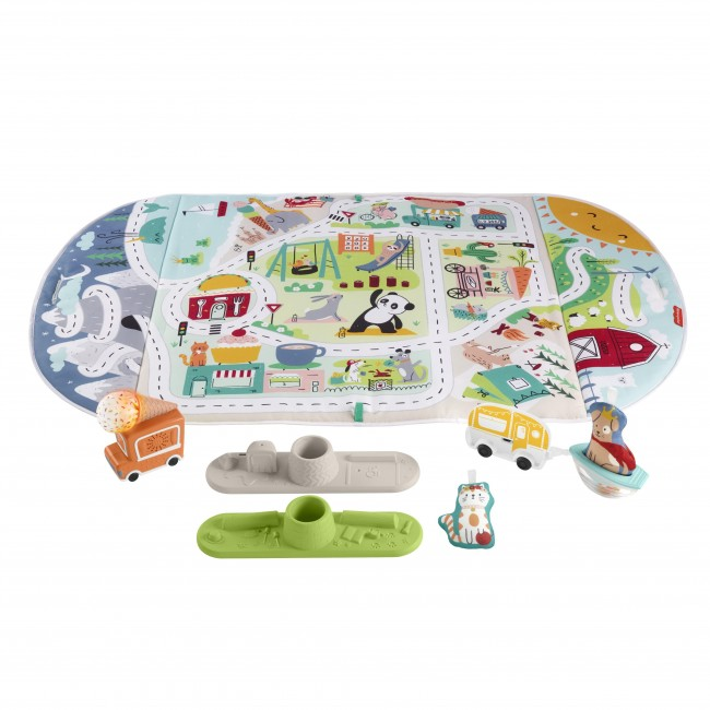 FISHER PRICE ΓΥΜΝΑΣΤΗΡΙΟ ΔΡΑΣΤΗΡΙΟΤΗΤΩΝ GROW WITH ME
