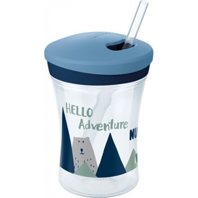 NUK EVOLUTION ACTION CUP HELLO ADVENTURE ΜΕ ΚΑΛΑΜΑΚΙ 12 ΜΗΝΩΝ ΚΑΙ ΠΑΝΩ