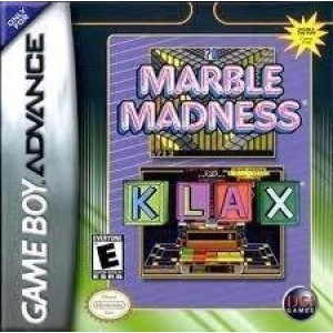 GBA 2 IN 1 MARBLE MADNESS KLAX