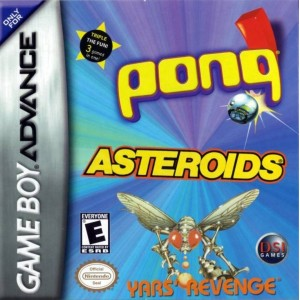 GBA 3 IN 1 PONQ ASTEROIDS YARS REVENGE