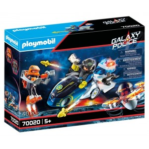 PLAYMOBIL GALAXY POLICE ΜΟΤΟΣΙΚΛΕΤΑ