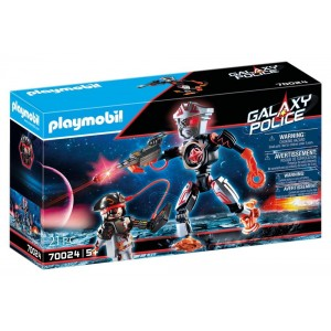 PLAYMOBIL GALAXY POLICE PIRATE ΚΑΙ ΡΟΜΠΟΤ