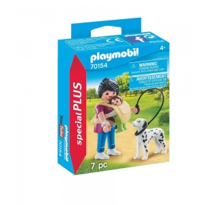 PLAYMOBIL SPECIAL PLUS ΜΑΜΑ ΜΕ ΜΩΡΑΚΙ ΚΑΙ ΣΚΥΛΑΚΙ ΔΑΛΜΑΤΙΑΣ