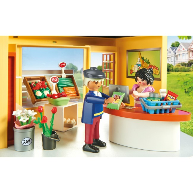 PLAYMOBIL CITY LIFE MY PRETTY PLAY-MINI MARKET
