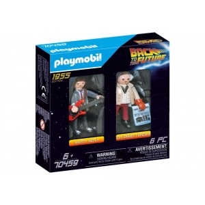 PLAYMOBIL BACK TO FUTURE MARTY AND DR EMMETT BROWN
