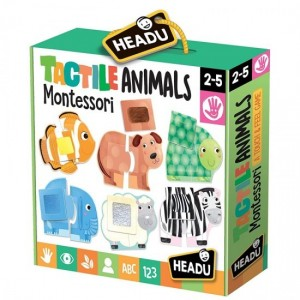 HEADU TACTILE ANIMALS MONTESSORI