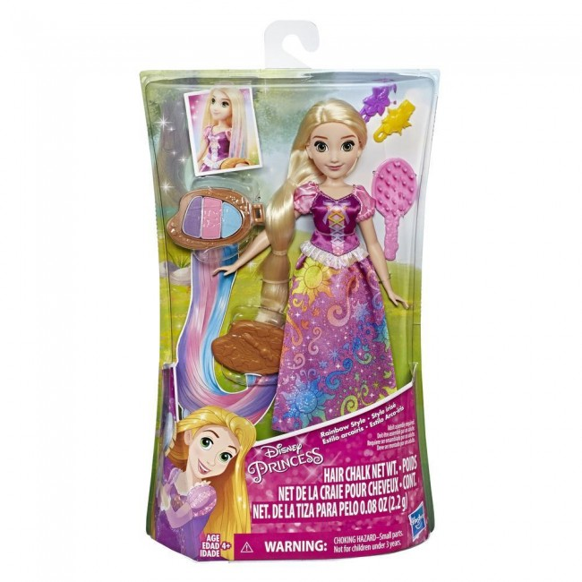 DISNEY PRINCESS RAINBOW HAIR RAPUNZEL