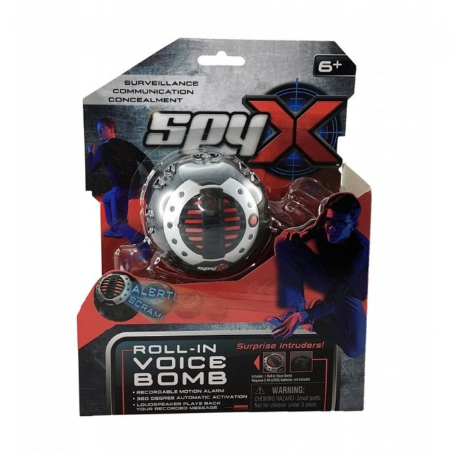 SPY X ROLL IN VOICE BOMB