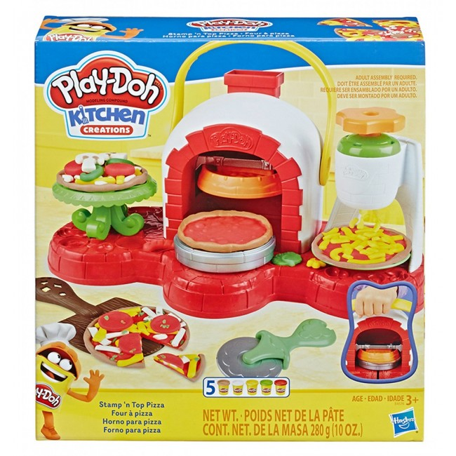 PLAY-DOH STAMP N TOP PIZZA ΦΟΥΡΝΟΣ ΠΙΤΣΑ