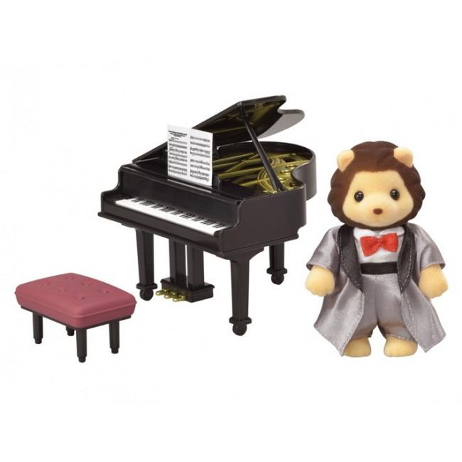 SYLVANIAN TOWN SERIES GRAND PIANO CONCERT SET