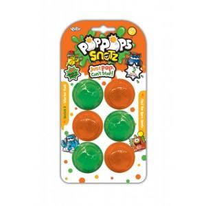 POP POPS SNOTZ 6 BUBBLES