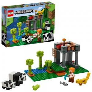 LEGO THE PANDA NURSERY Ο ΠΑΙΔΙΚΟΣ ΣΤΑΘΜΟΣ ΤΩΝ ΠΑΝΤΑ