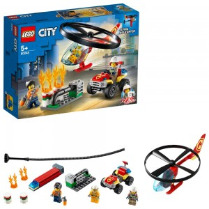 LEGO FIRE HELICOPTER RESPONSE ΑΝΤΑΠΟΚΡΙΣΗ ΠΥΡΟΣΒΕΣΤΙΚΟΥ ΕΛΙΚΟΠΤΕΡΟΥ