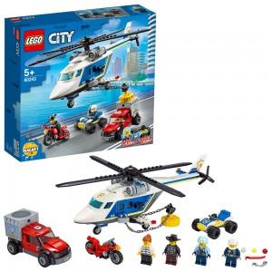 LEGO POLICE HELICOPTER CHASE ΚΑΤΑΔΙΩΞΗ ΜΕ ΑΣΤΥΝΟΜΙΚΟ ΕΛΙΚΟΠΤΕΡΟ