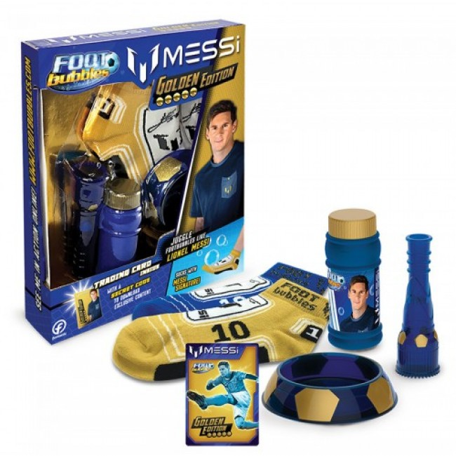 ΣΕΤ FOOT BUBBLES GOLDEN EDITION MESSI