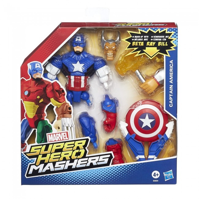 SUPER HERO MASHERS AVG BATTLE UPGRADE FIGURE ASST