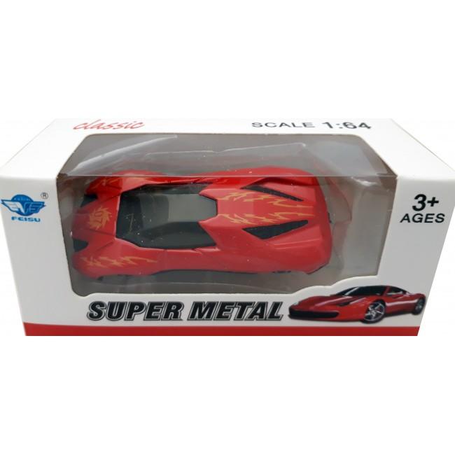 ΑΥΤΟΚΙΝΗΤΟ ΜΙΚΡΟ SUPER METAL CAR