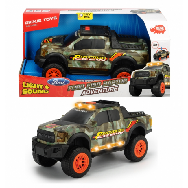 DICKIE ΟΧΗΜΑ FORD F150 RAPTOR-ADVENTURE
