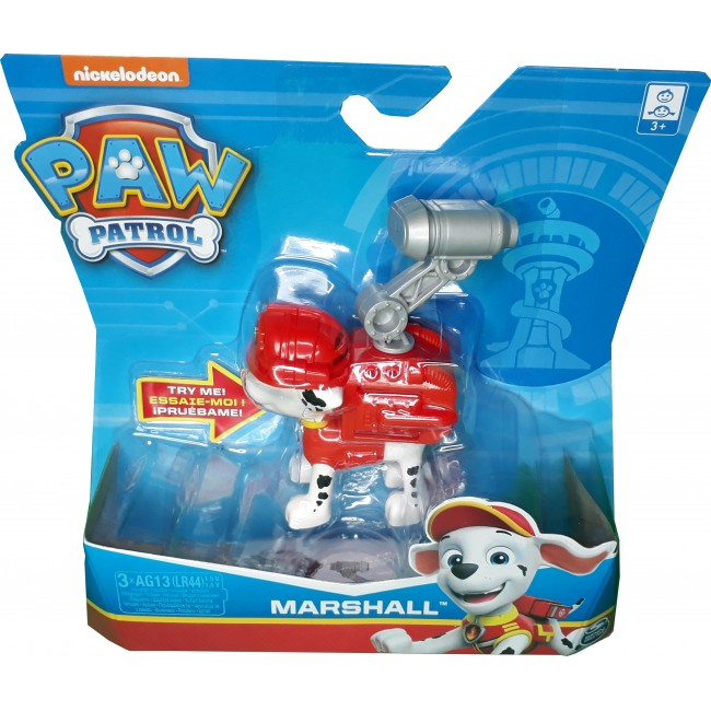 PAW PATROL SPIN MASTER ΚΟΥΤΑΒΑΚΙΑ ΔΡΑΣΗΣ 5 ΣΧΕΔΙΑ